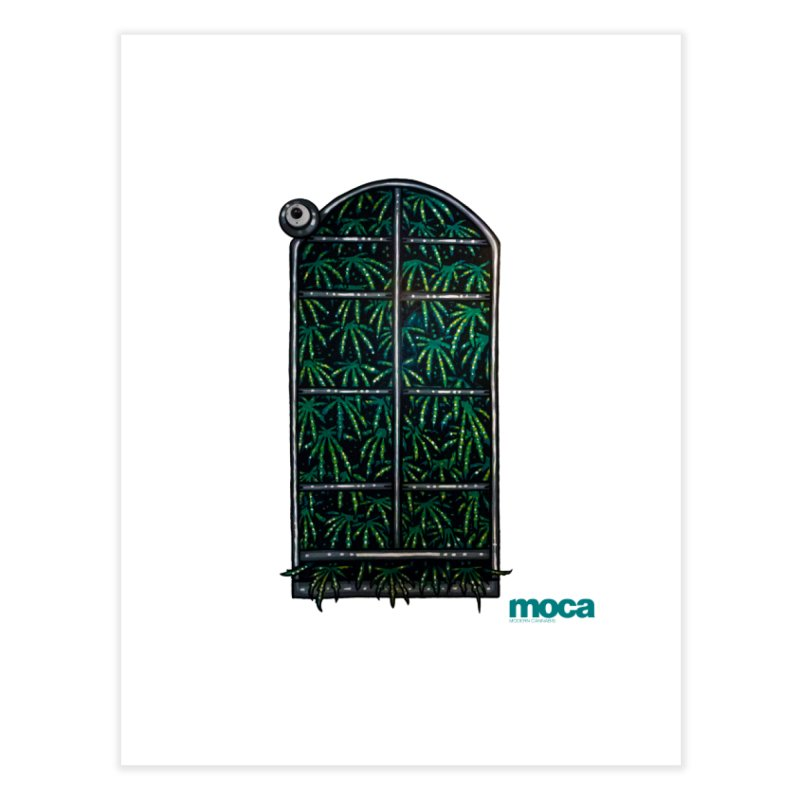 Sick Fisher Home Fine Art Print by MOCA