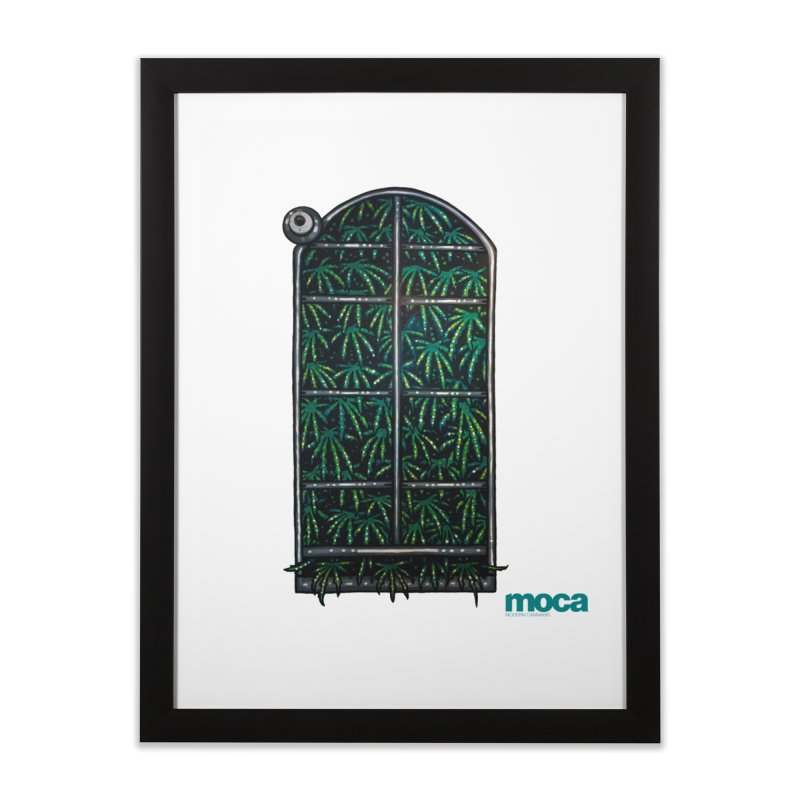Sick Fisher Home Framed Fine Art Print by MOCA