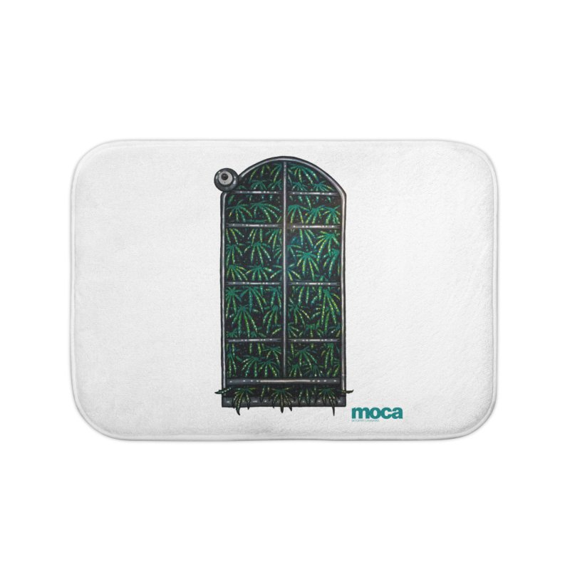 Sick Fisher Home Bath Mat by MOCAshop's Artist Shop