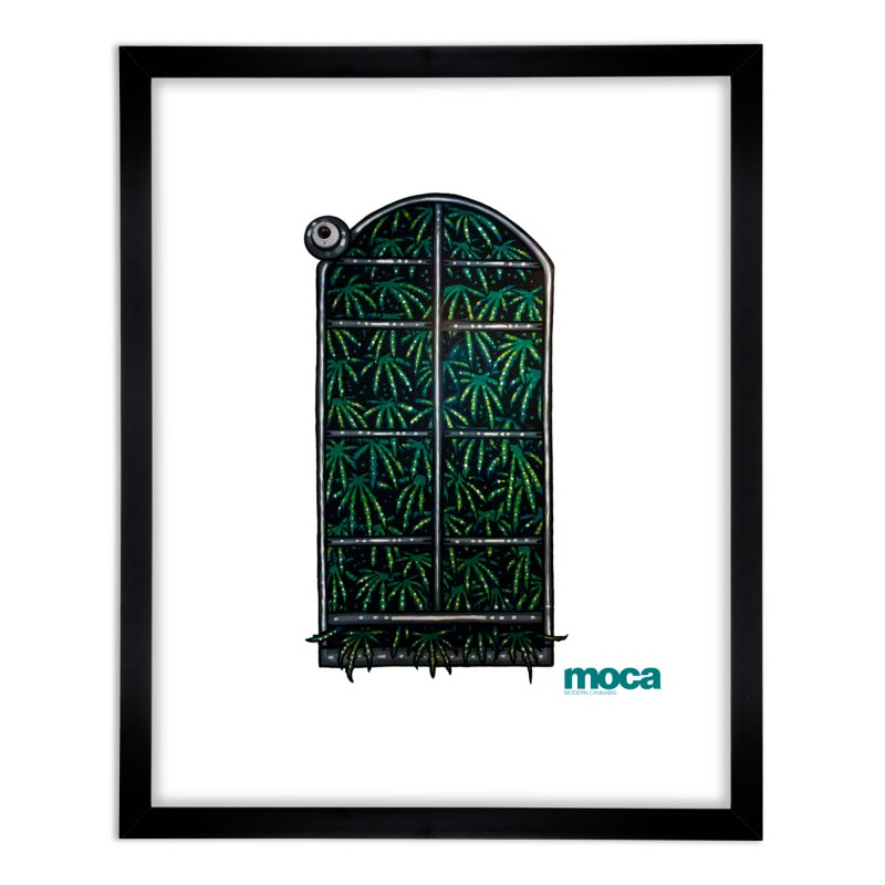 Sick Fisher Home Framed Fine Art Print by MOCA