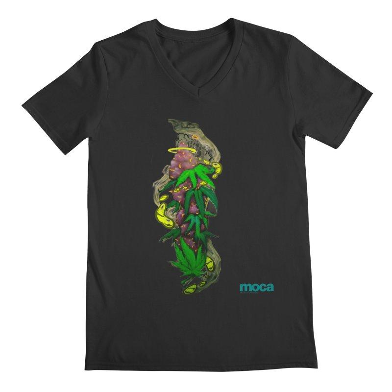 Stuk One Men's V-Neck by MOCAshop's Artist Shop