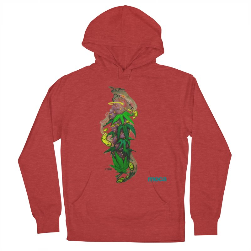 Stuk One Men's French Terry Pullover Hoody by MOCAshop's Artist Shop
