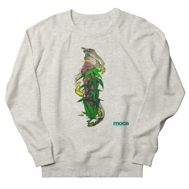Stuk One Women's French Terry Sweatshirt by MOCAshop's Artist Shop