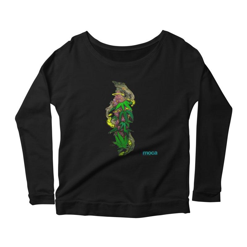 Stuk One Women's Scoop Neck Longsleeve T-Shirt by MOCAshop's Artist Shop