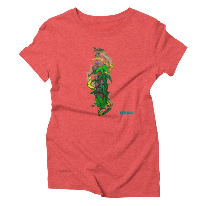 Stuk One Women's Triblend T-Shirt by MOCAshop's Artist Shop