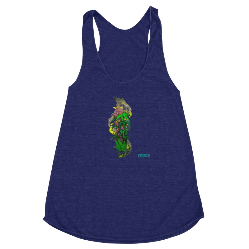 Stuk One Women's Racerback Triblend Tank by MOCAshop's Artist Shop