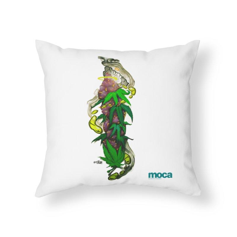Stuk One Home Throw Pillow by MOCA