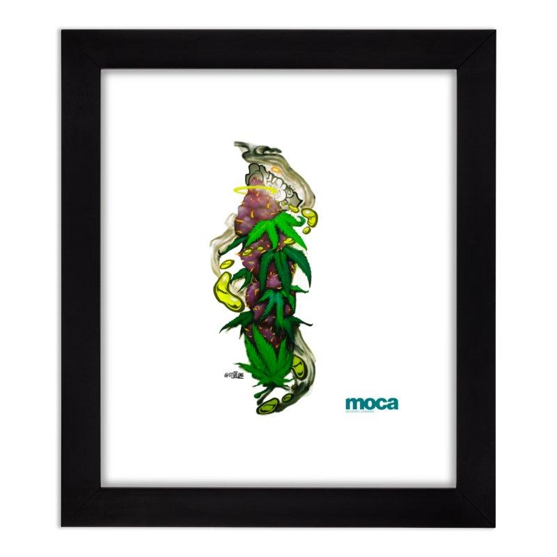 Stuk One Home Framed Fine Art Print by MOCA