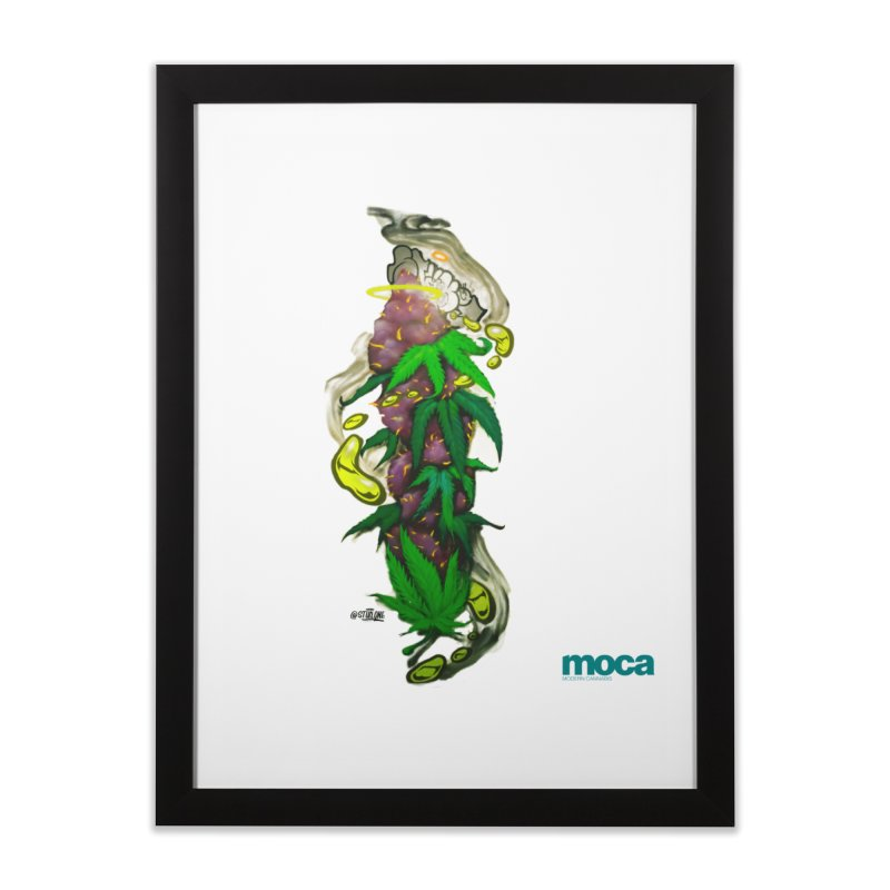 Stuk One Home Framed Fine Art Print by MOCA