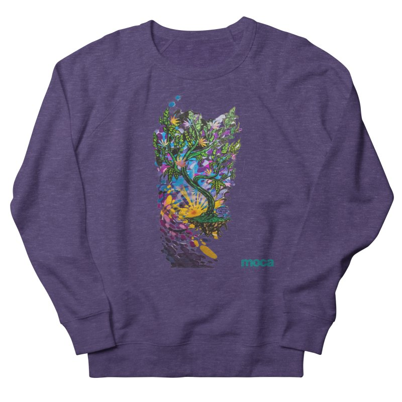 Wreckzilla Women's French Terry Sweatshirt by MOCAshop's Artist Shop