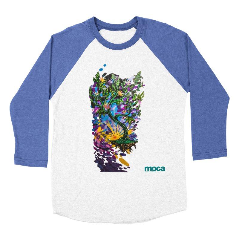 Wreckzilla Women's Baseball Triblend Longsleeve T-Shirt by MOCA