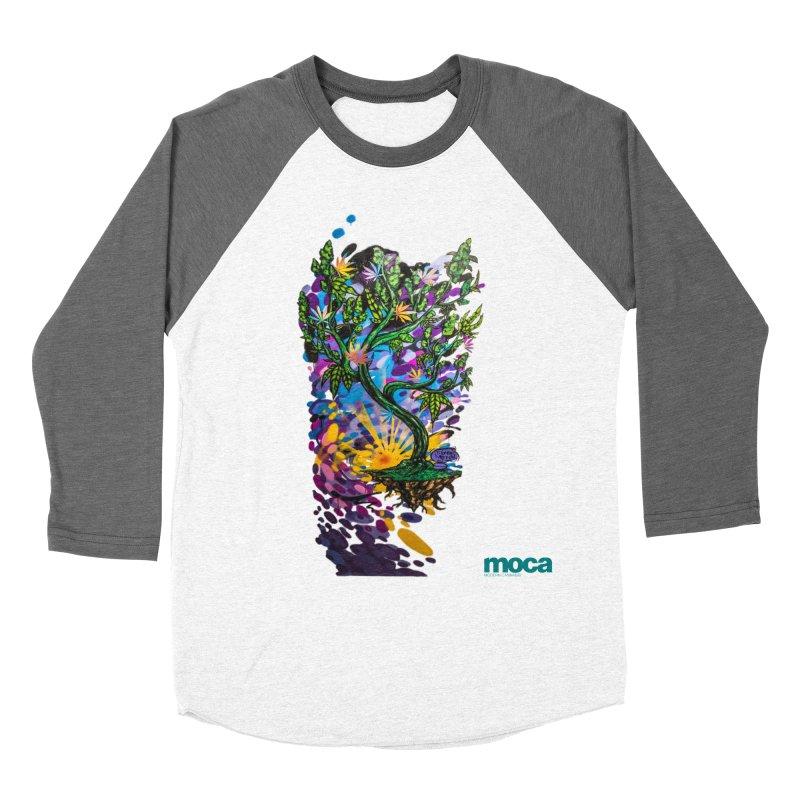 Wreckzilla Women's Baseball Triblend Longsleeve T-Shirt by MOCAshop's Artist Shop