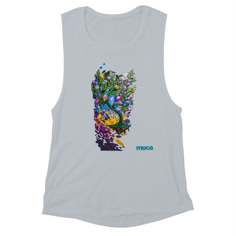 Wreckzilla Women's Muscle Tank by MOCA