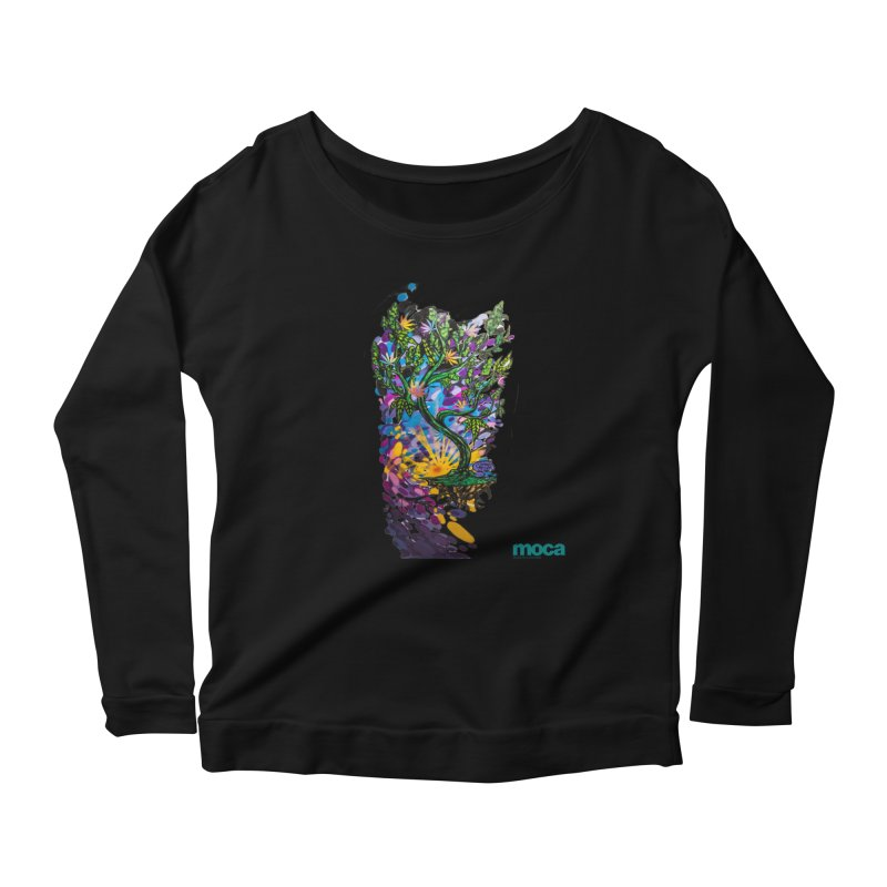 Wreckzilla Women's Scoop Neck Longsleeve T-Shirt by MOCA