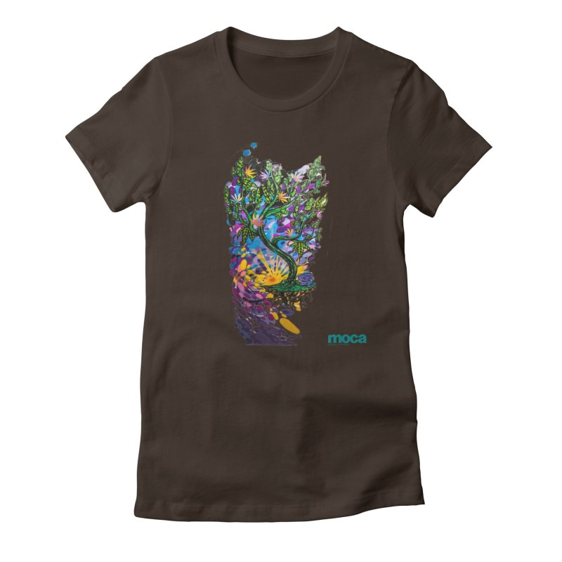 Wreckzilla Women's Fitted T-Shirt by MOCA