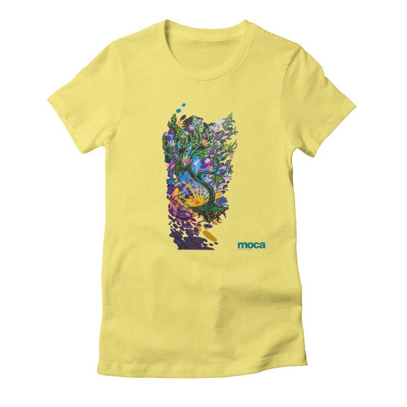 Wreckzilla Women's Fitted T-Shirt by MOCA