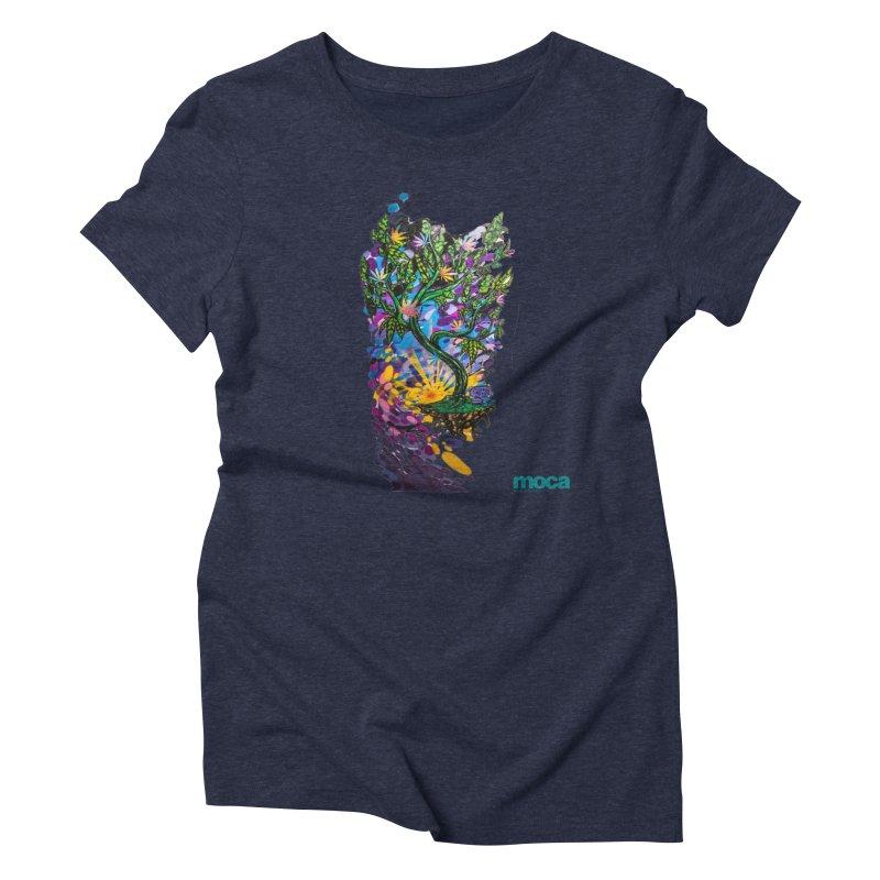Wreckzilla Women's Triblend T-Shirt by MOCAshop's Artist Shop