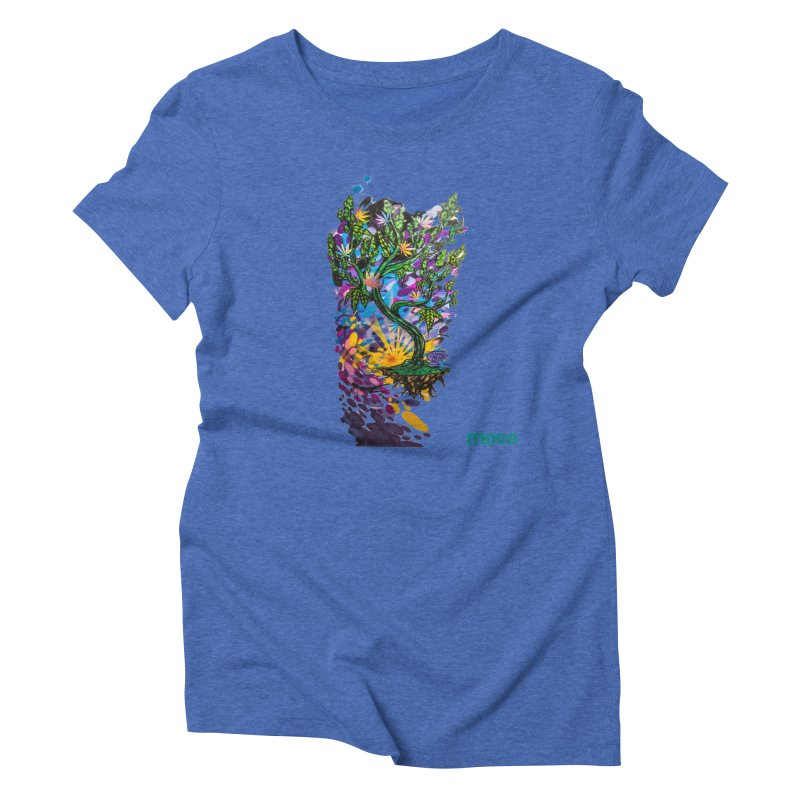 Wreckzilla Women's Triblend T-Shirt by MOCA
