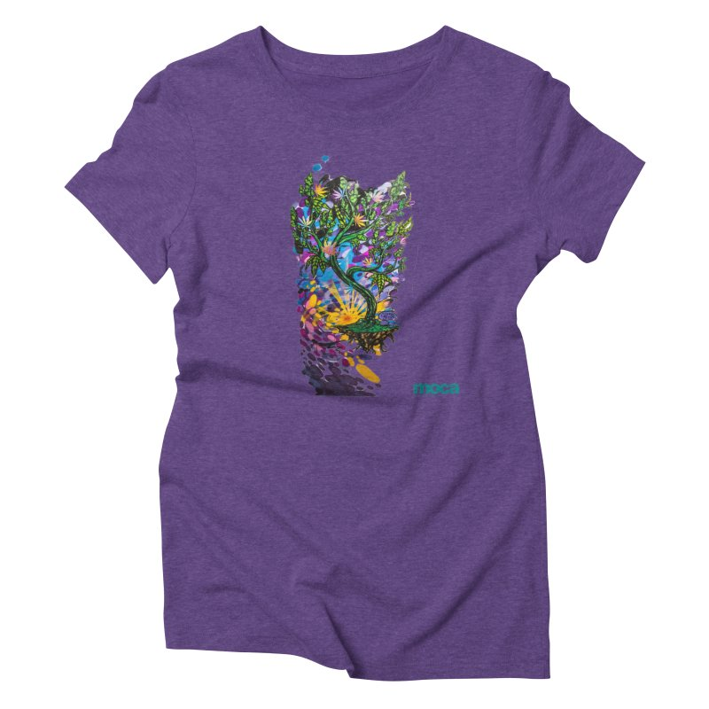Wreckzilla Women's Triblend T-Shirt by MOCAshop's Artist Shop
