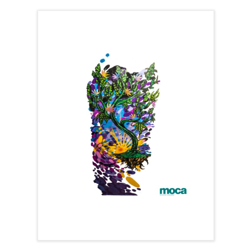 Wreckzilla Home Fine Art Print by MOCA
