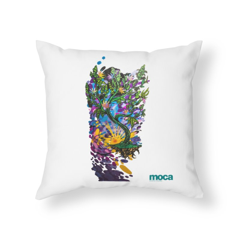Wreckzilla Home Throw Pillow by MOCA