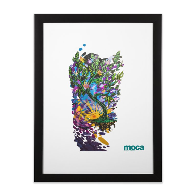 Wreckzilla Home Framed Fine Art Print by MOCA