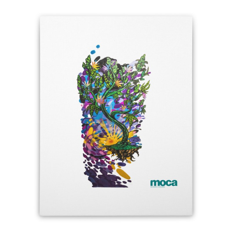 Wreckzilla Home Stretched Canvas by MOCA