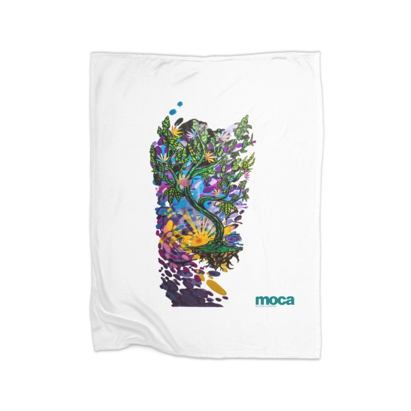 Wreckzilla Home Fleece Blanket Blanket by MOCA