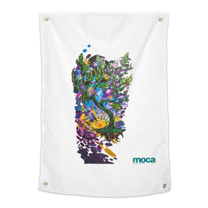 Wreckzilla Home Tapestry by MOCA