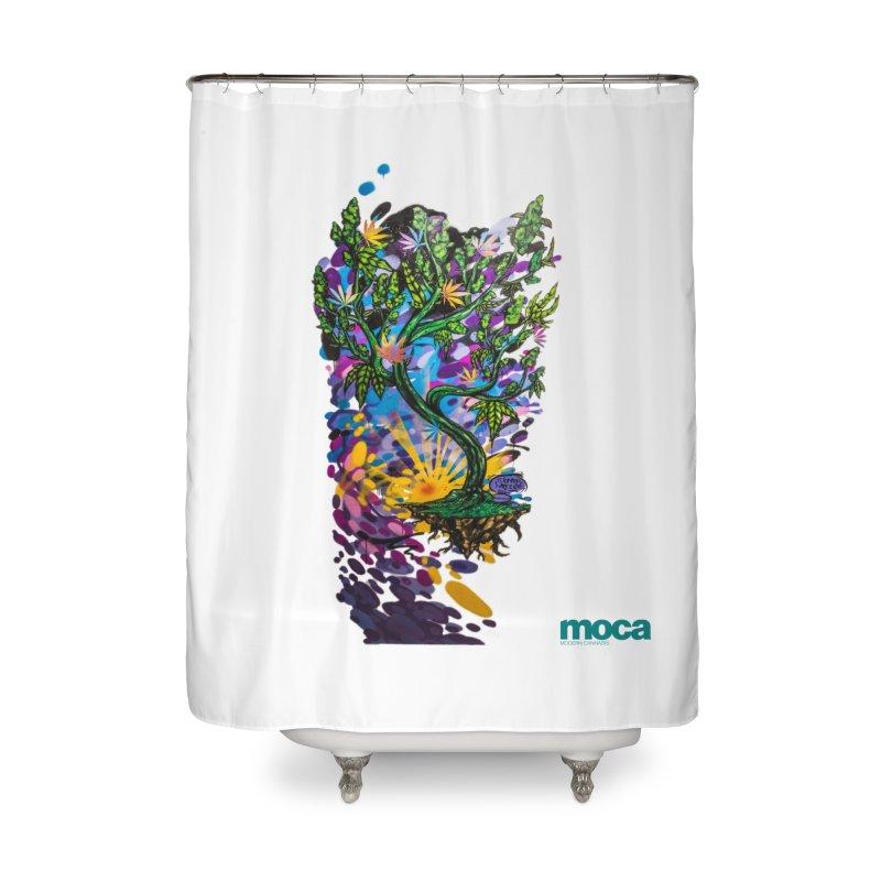 Wreckzilla Home Shower Curtain by MOCAshop's Artist Shop
