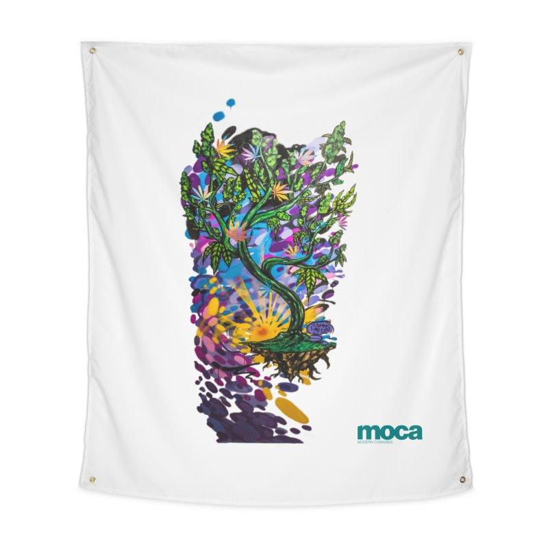 Wreckzilla Home Tapestry by MOCA