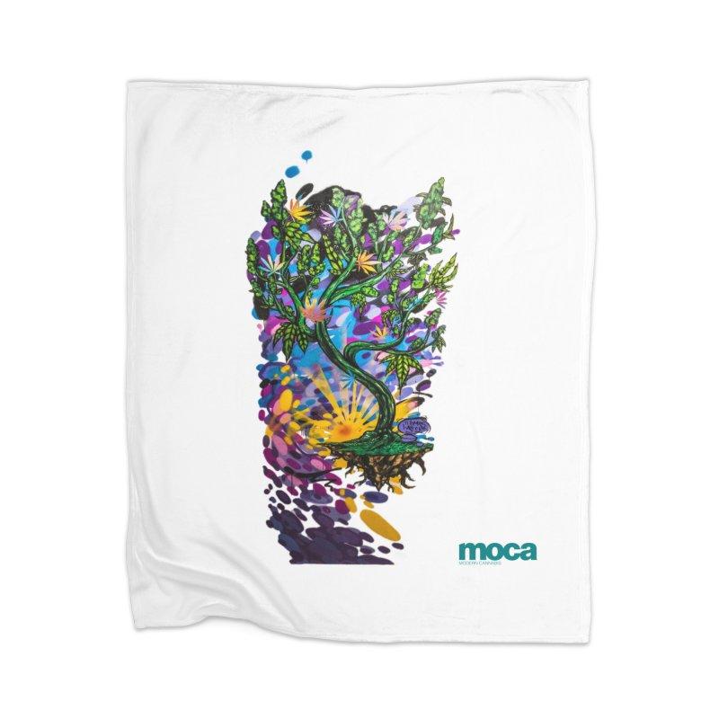 Wreckzilla Home Blanket by MOCA