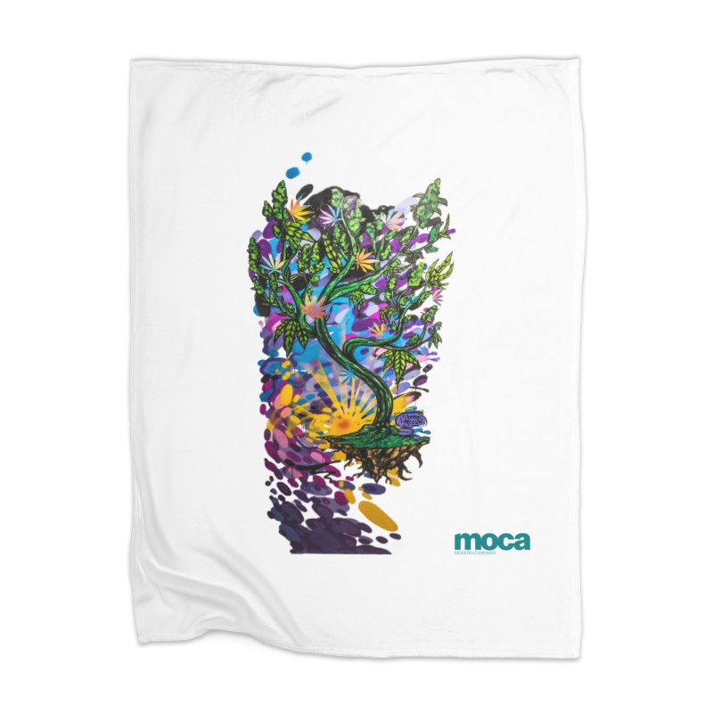 Wreckzilla Home Blanket by MOCA