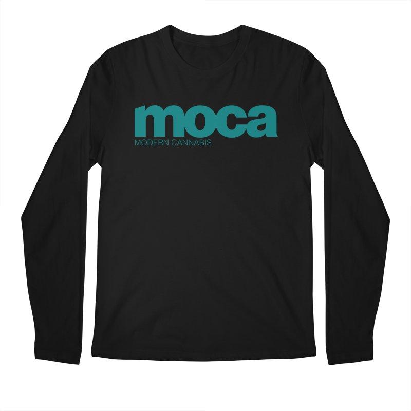 MOCA Logo Men's Longsleeve T-Shirt by MOCA