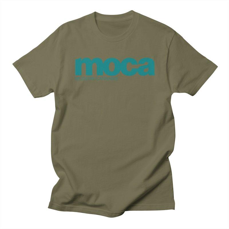 MOCA Logo Men's T-Shirt by MOCA