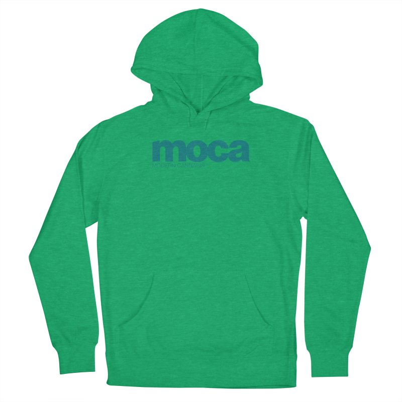 MOCA Logo Women's French Terry Pullover Hoody by MOCA