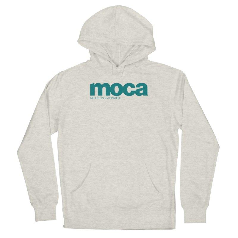 MOCA Logo Women's Pullover Hoody by MOCA