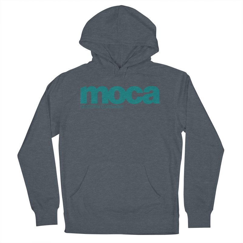 MOCA Logo Men's Pullover Hoody by MOCAshop's Artist Shop