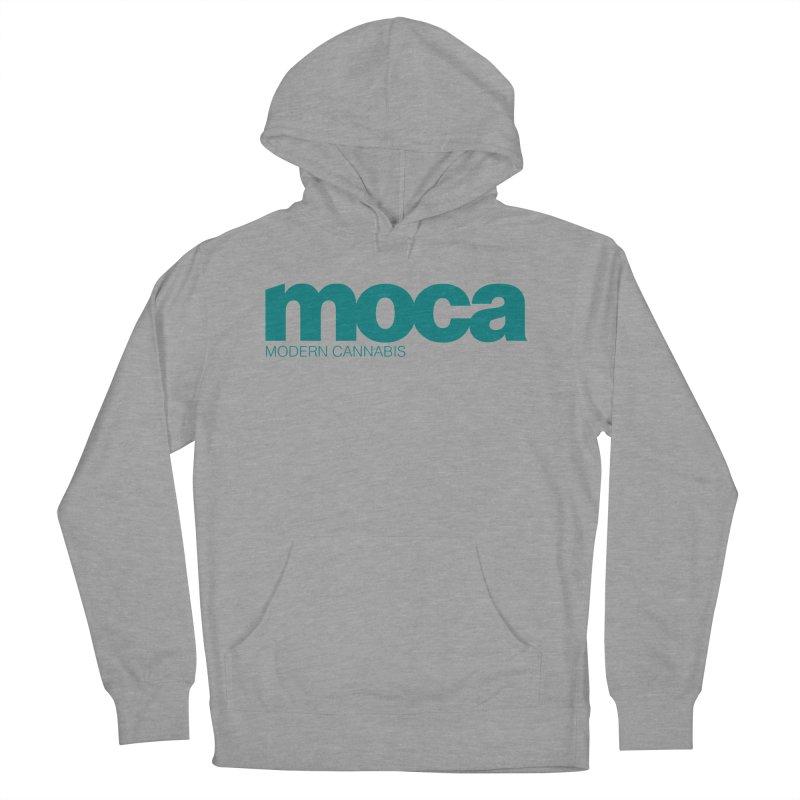 MOCA Logo Men's French Terry Pullover Hoody by MOCA
