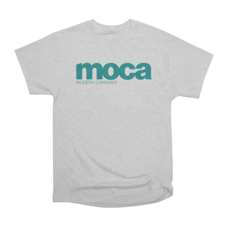 MOCA Logo Women's Heavyweight Unisex T-Shirt by MOCA
