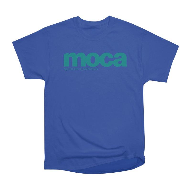 MOCA Logo Men's Heavyweight T-Shirt by MOCA