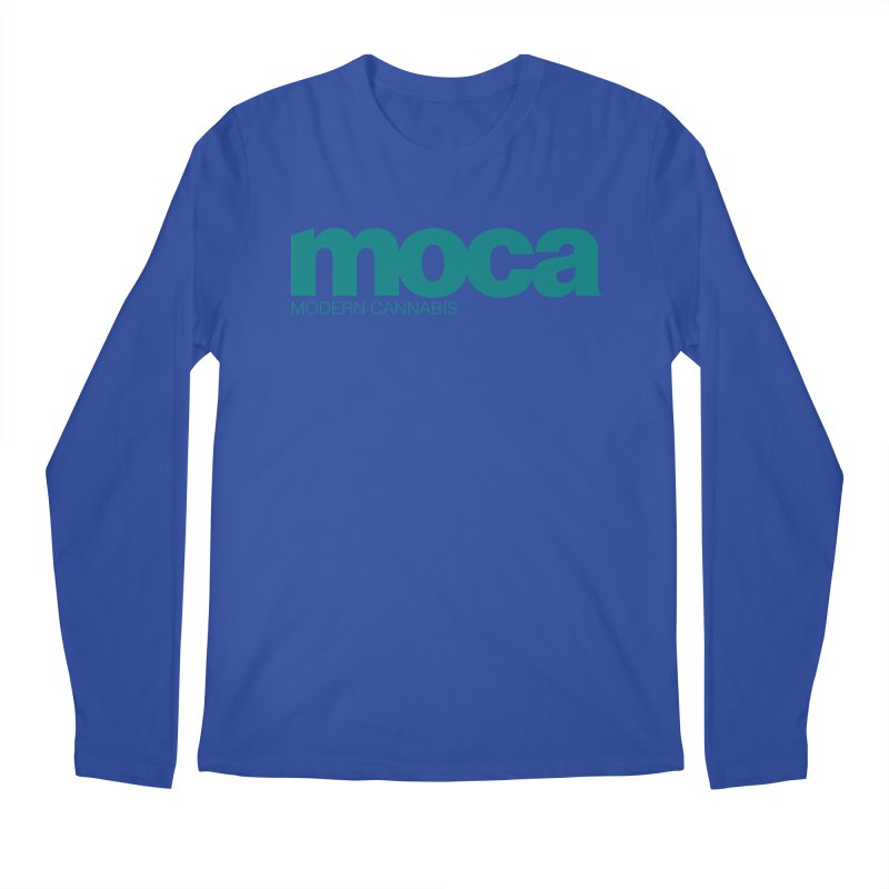 MOCA Logo Men's Longsleeve T-Shirt by MOCA