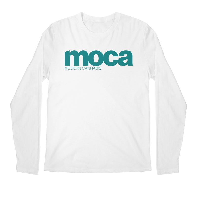 MOCA Logo Men's Regular Longsleeve T-Shirt by MOCA