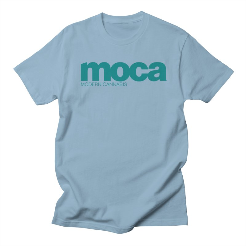 MOCA Logo Men's T-Shirt by MOCA