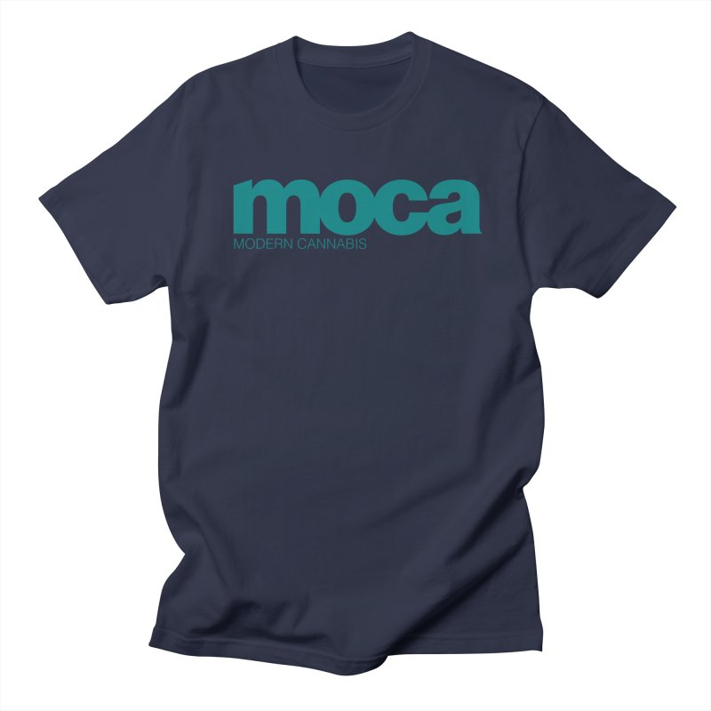 MOCA Logo Men's Regular T-Shirt by MOCA