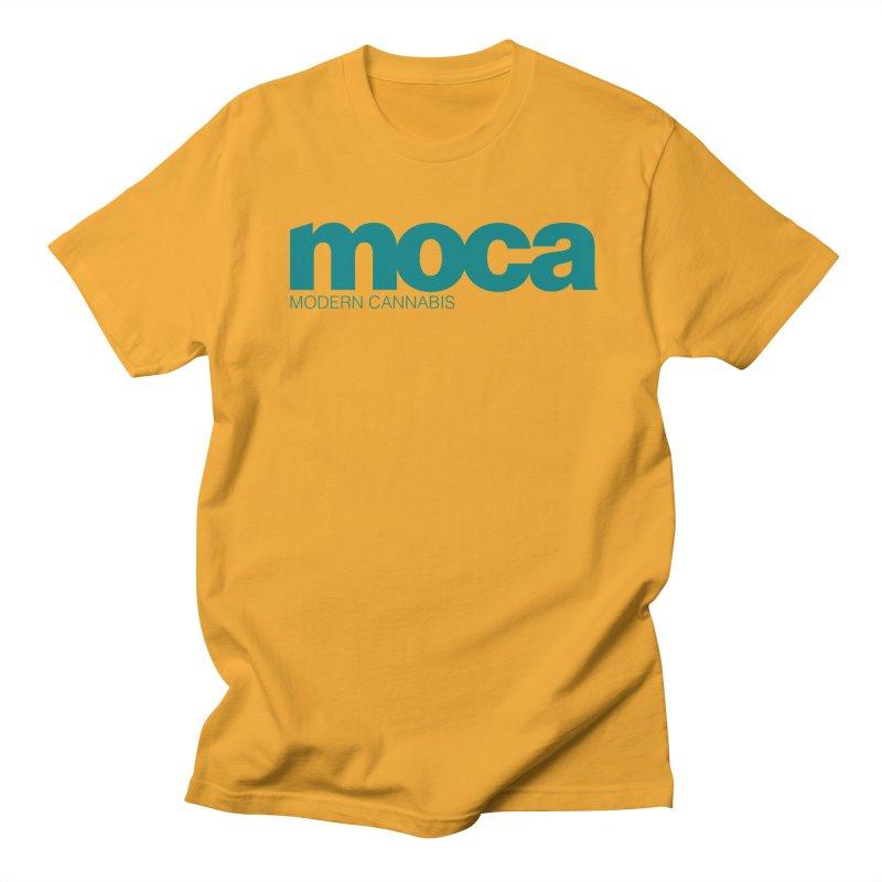 MOCA Logo Men's Regular T-Shirt by MOCA