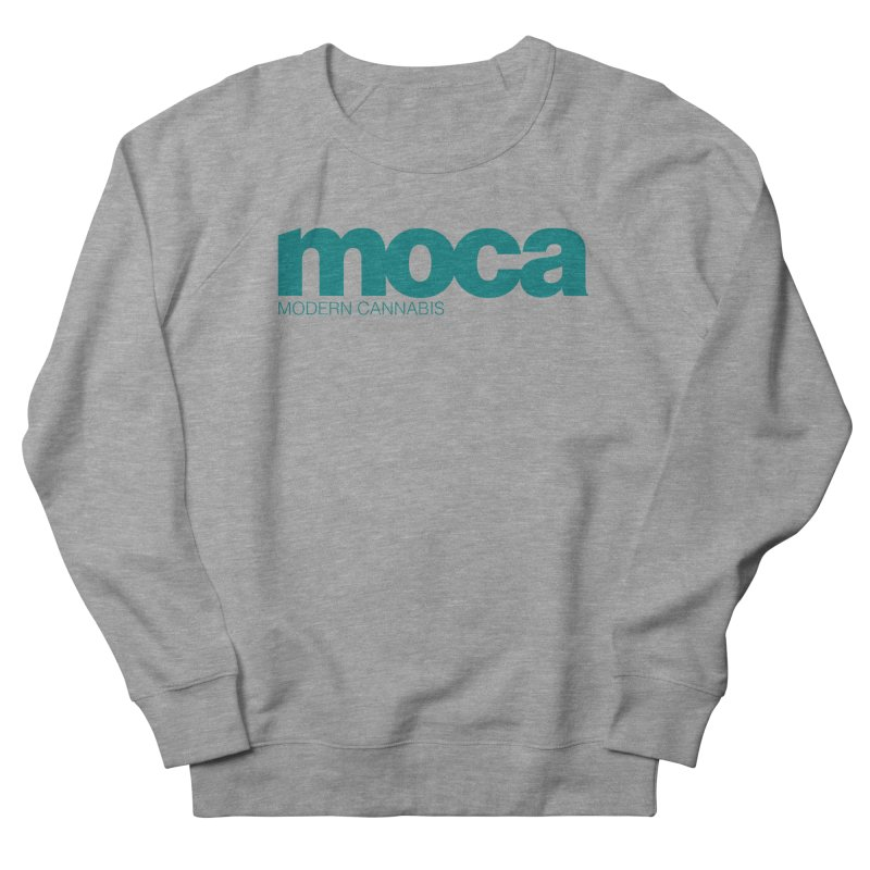 MOCA Logo Women's French Terry Sweatshirt by MOCA