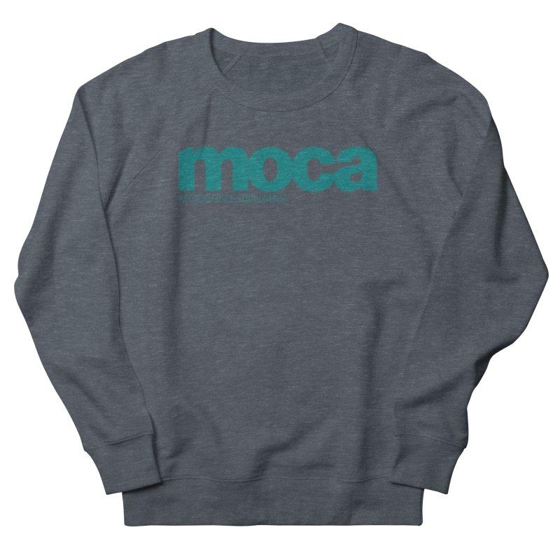 MOCA Logo Men's French Terry Sweatshirt by MOCA