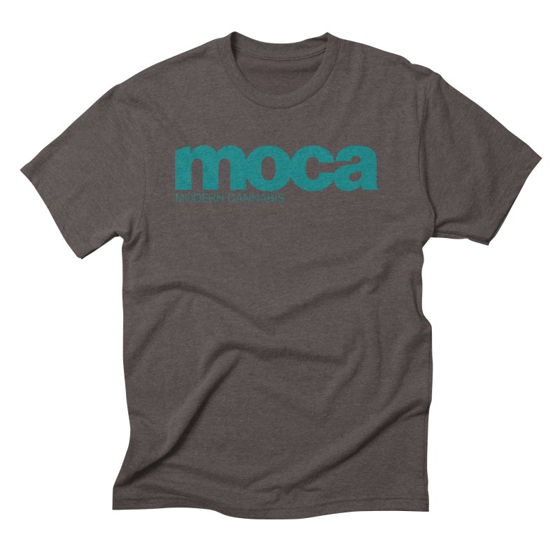 MOCA Logo Men's Triblend T-Shirt by MOCAshop's Artist Shop