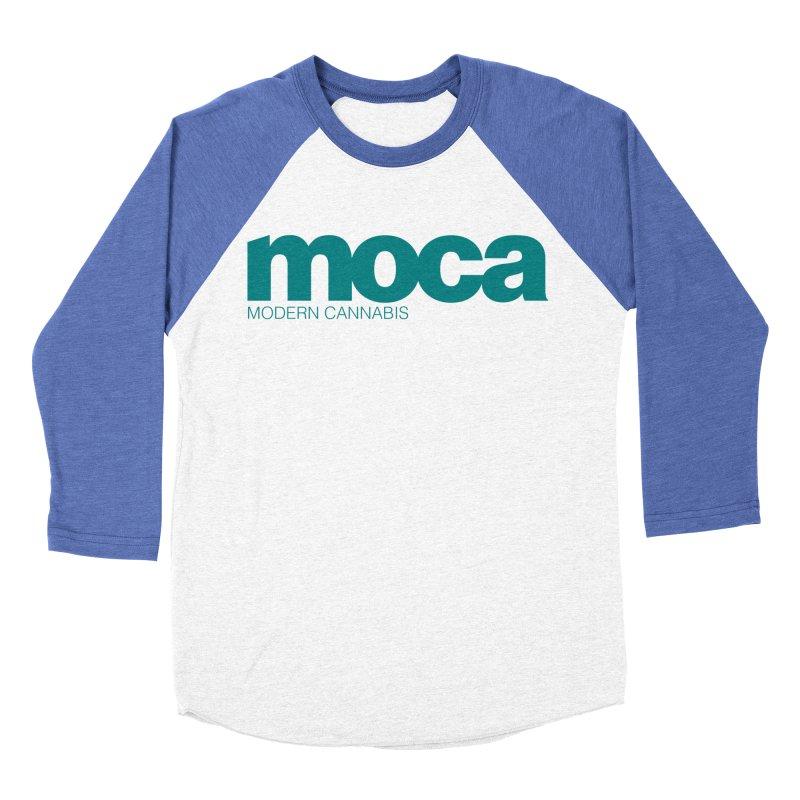 MOCA Logo Women's Baseball Triblend Longsleeve T-Shirt by MOCAshop's Artist Shop